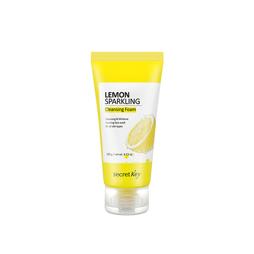 secretKey Lemon Sparkling Cleansing Foam