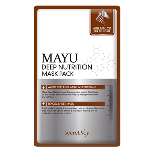 secretKey Mayu Deep Nutrition Mask Pack