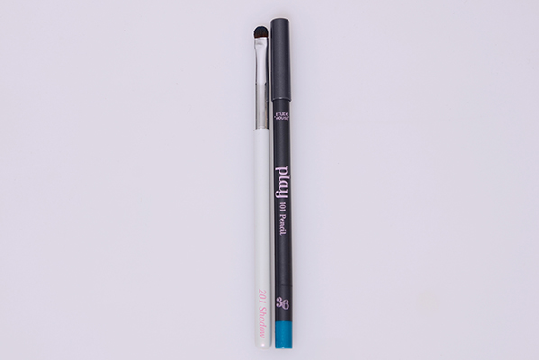 Etude house play 101 pencil #36 pro skill 201 point shadow brush