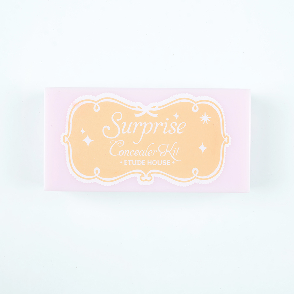 ETUDE HOUSE surprise concealer kit #1 for spot cover review