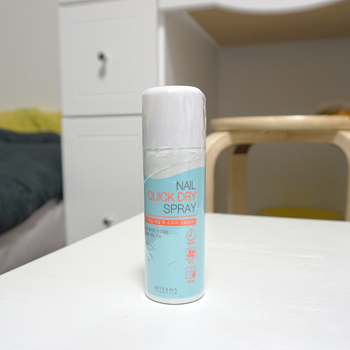 Missha The Style Nail Quick Dry Spray Review