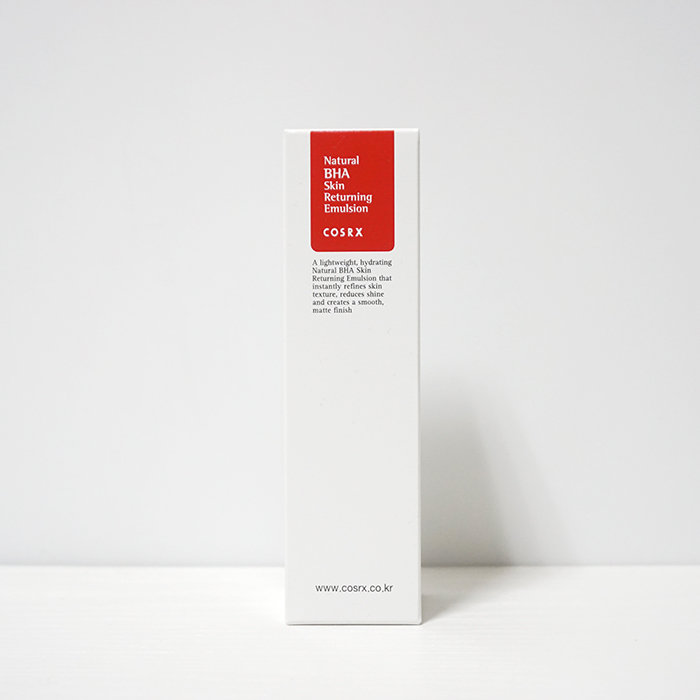 COSRX Natural BHA Skin Returning Emulsion REVIEW