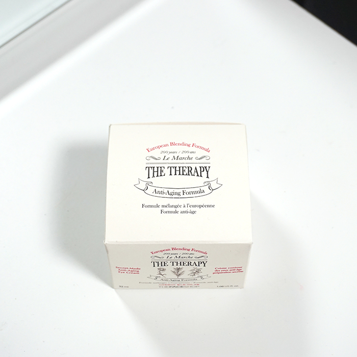 THE FACE SHOP The Therapy Secret-Made Anti-Aging Eye Cream REVIEW